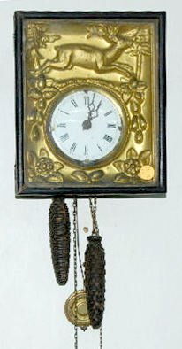 Picture Frame Clock, 2 Weight